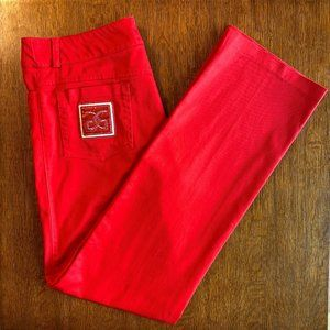 NWOT Absolu Paris Red Pants size 8